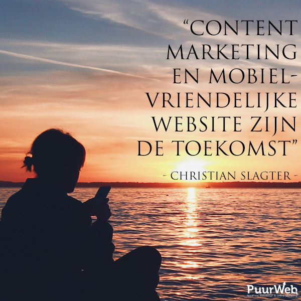 SEO quote Christian Slagter