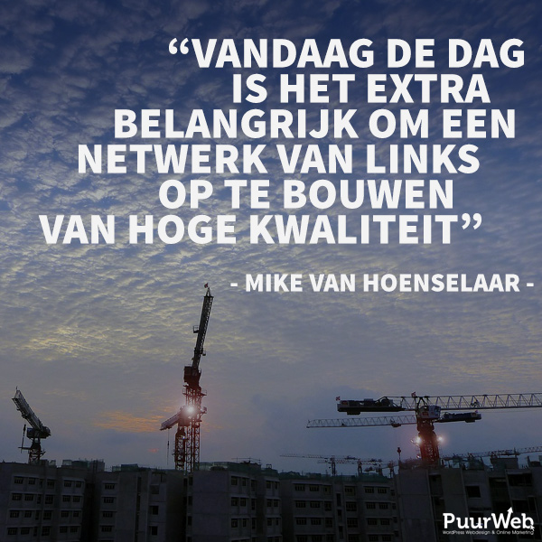 SEO quote Mike van Hoenselaar
