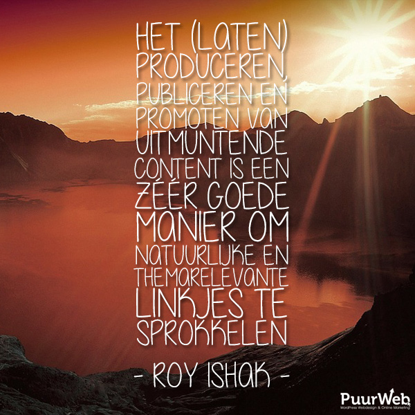 SEO quote Roy Ishak