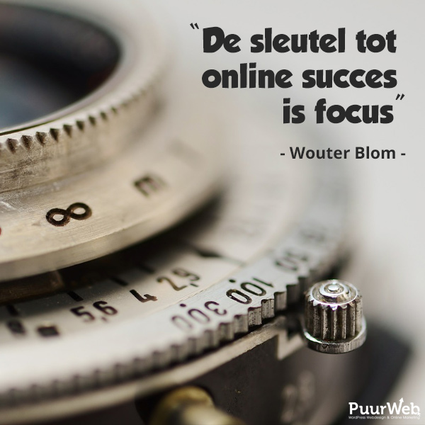 SEO quote Wouter Blom